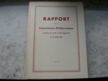 Rapport de la commision d'information (la question royal)